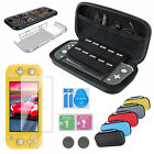 5 in1 Accessories set Carrying Case+Tempered Glass Film for Nintendo Switch Lite