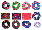 Hair Scrunchie Cherries Strawberries Watermelon Peppers Scrunchies by Sherry $41.15  on eBay