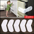 Внешний вид - 5x Baby Child Cupboard Cabinet Safety Locks Pet Proofing Door Drawer Fridge Kids