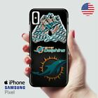 Miami Dolphins iPhone X Samsung S10 Pixel Case Manuel_Ghondor $22.99 USD on eBay