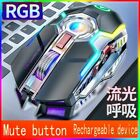 1600DPI Ergonomic Optical Wireless Gaming Mouse&Programmable Button RGB Backlit