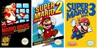 Super Mario Bros 1 2 3 Trilogy Game Poster Collection (Set of 3) - 11x17 13x19