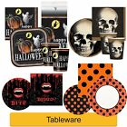HALLOWEEN Party Tableware Fright Spider Skull Ghost Haunted Supplies Decorations