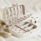Portable Earring Ring Jewelry Display Storage Box Case Travel Organizer Women