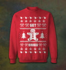Lucky bastards Sweater Pullover Merry Christmas Get Baked Ugly Casual Unisex