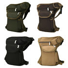 Tactical Military Men Drop Leg Bag Thigh Fanny Pack Utility Waist Belt Pouch Bag