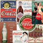 Retro Coca-cola Metal tin Signs official Vintage style coke advertising $12.99  on eBay