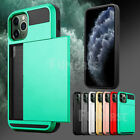 For Apple Iphone 11 Pro Max Wallet Case Credit Card Slim Holder Armor Case Cover