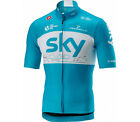 'Castelli Team Sky Podio Short Sleeve Cycling Jersey Rrp £80