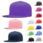 Baseball Cap Blank Plain Solid Snapback Golf Ball HipHop Sports Hat BN