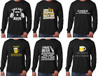 Long Sleeve T-Shirts Beer Lover Shirt I make Beer disappear Superpower