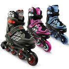 Eliiti Kids Inline Skates for Girls Boys Size 13J to 9 Adjustable Roller Blades