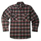 YAGO Men's Casual Plaid Flannel Long Sleeve Button Down Shirt Gray/3J (S-5XL)