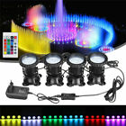 4Pcs Submersible 36LED RGB Pond Spot Lights for Underwater Pool Fountain Pond $40.75 USD on eBay