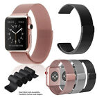 For Apple Watch Series 5 4 3 2 1 Magnetic Milanese Loop Band 38mm 42mm 40mm 44mm image