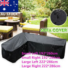L Shape Waterproof Polyester Outdoor Garden Furniture Sofa Patio Cover Furniture