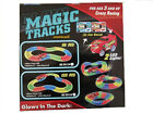 MAGIC TRACKS Glow in the Dark LED LIGHT UP RACE CAR Bend Flex Racetrack All Size <br/> !! UK STOCK !! FAST DISPATCH !! COMES WITH CAR !!