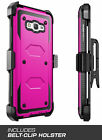 For Samsung Galaxy J7 2015 /J700 360° Full Protection Case Cover + Clip Belt