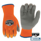 Thermal Gloves 10g Acrylic Inner Eco Latex Palm Safety Work Gloves Builders