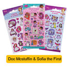 DISNEY DOC McSTUFFINs & SOFIA The FIRST Fun Foil Stickers PRINCESS Birthday Gift