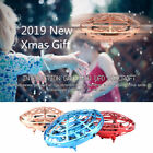 360° Mini Drone Smart UFO Aircraft For Kids Flying Toys RC Hand Control Gifts UK