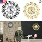 ❤️3D Large Wall Clock Home Fashion Decorative Creative Mute Clock Kit Flower USA