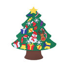 Felt Christmas Tree Set DIY with Removable Ornaments Xmas Hand Craft Decor AU
