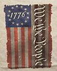 BETSY ROSS FLAG 1776 WE THE PEOPLE UNITED STATES OF AMERICA SHIRT image