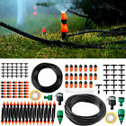 25M Automatic Drip Irrigation Kit System Micro Sprinkler Garden Hose Watering
