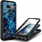 For Lg G8 Thinq/ G8x Thinq Case Full Body Built-in Screen Protector Phone Cover