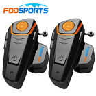 BT-S2 Motorcycle Intercom Bluetooth 1000M Helmet Headsete 3 Riders Communication