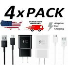 4X Adaptive Fast Charging Charger for Samsung Galaxy A20 A50 A70 Motorola MOTO