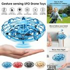 Mini UFO Drone RC Infrared Sensor Induction Quadcopter Flying Aircraft Toys 360°