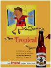 "046.Cuban graphic Design poster""First Beer of Cuba.Borrachito.Drunk"" Decoration"