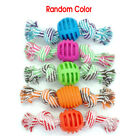 Pet-Dog-Cat-Cotton-Rope-Ball-Chew-Puppy-Teething-Dental-Healthy-Treat-Clean-Toys