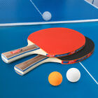 Kyпить Table Tennis 2 Player Set 2 Table Tennis Bats Rackets with 3 Ping Pong Balls на еВаy.соm