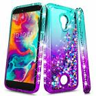 for COOLPAD LEGACY S Liquid Glitter Case | Bling Cute Waterfall Phone Cover