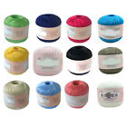 HB- Mercerized Cotton Cord Thread Yarn for Embroidery Crochet Knitting Jewelry D