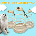 02F9 Small Fish Funny Cat Toy Spring Cat Toy Gift Bottom Sucker Sturdy