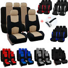 Universal Auto Front Rear Polyester Seat Covers Protectors For Car Truck SUV Van $22.29 USD on eBay