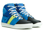 Dainese York Air Mens Shoes Performance Blue/Fluo Yellow