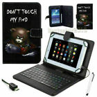 For Amazon Kindle Fire 7inch 2015/Acer Iconia PU Leather Case Cover+USB Keyboard