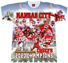 KANSAS CITY CHIEFS T-SHIRT. SUPER BOWL WINNERS. PATRICK MAHOMES TEE.2020 $26.99 USD on eBay