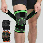 Adjustable Knee Brace Sports Compression Wrap Sleeves Support Arthritis Relief $7.51 USD on eBay
