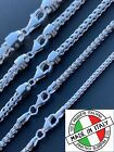 Kyпить Real Solid 925 Sterling Silver Franco Chain 2-5mm Box Necklace Men Ladies 18-30