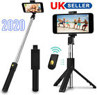 Tripod Bluetooth Remote Selfie Stick Holder For iPhone Samsung Huawei Smartphone