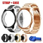 For Samsung Gear S3 Classic / Frontier Stainless Steel Bracelet Strap Watch Case image