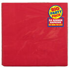 50 x Dinner Napkins - 40cm 2ply - Plain Solid Colours Birthday Party Tableware