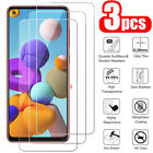 For Samsung Galaxy A71 A51 A41 A31 A21S A11 3Pcs Tempered Glass Screen Protector