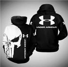 the punisher under armour all over print 3d hoodie Size S-5XL